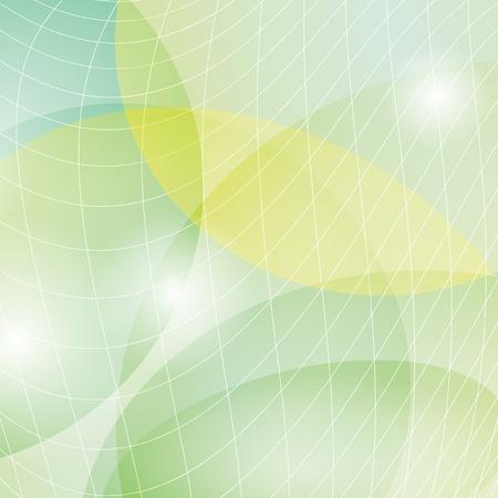Astratto luce verde sfondo vettoriale con maglia leggera Archivio Fotografico - 87429714
