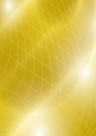 golden background with mesh - vector bright abstraction Stock fotó - 89266502