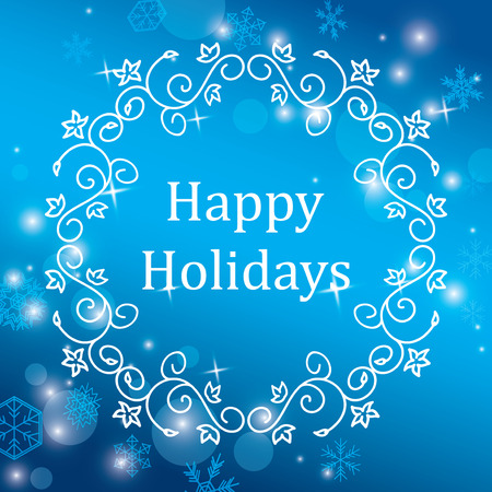 Image result for happy holidays snowflakes