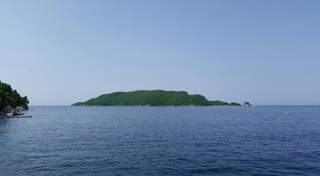 Sveti Nikola island in Montenegro
