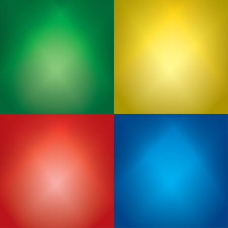 color backgrounds with light beams - vector set