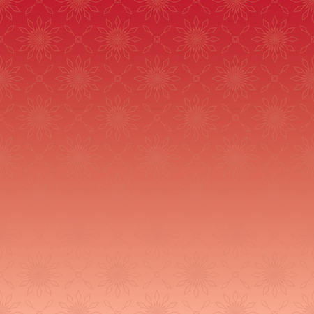 red vector background with geometric ornament and gradient