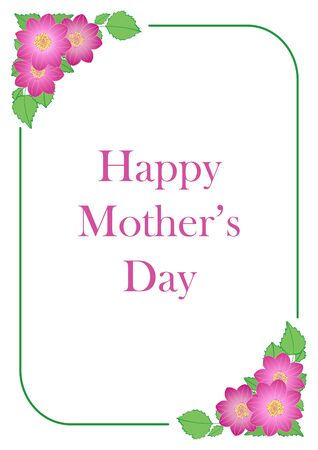 happy mother's day - vector greeting card Banque d'images - 146379404