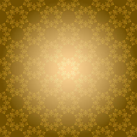 bright golden vector background with radial gradient