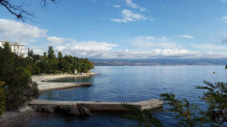 Kvarner Bay near Lovran - Croatia