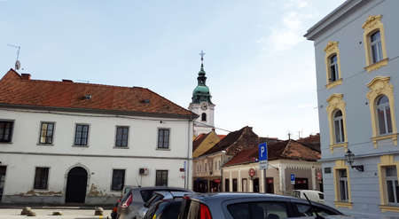 old center in Karlovac - Croatia