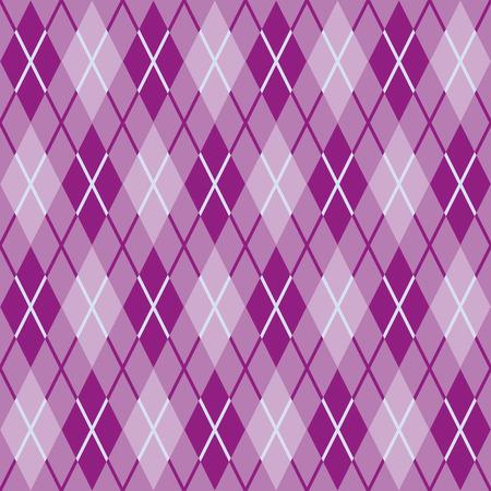 seamless texture: Muster f�r warme Wollstoff von lila und rosa Rauten Nahtlose Textur