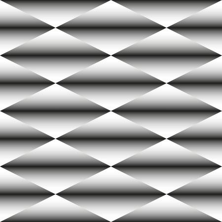 seamless texture: Abstrakte geometrische schwarz-wei� monochrome Muster der Raute. Nahtlose Textur