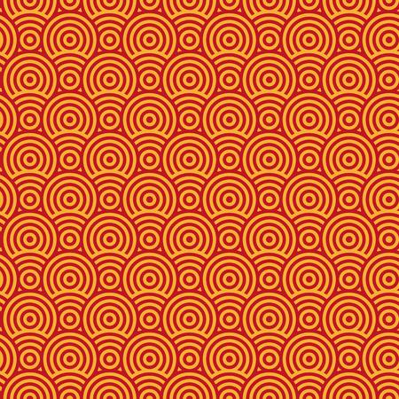 seamless texture: Abstrakte zwei Farbmuster von Kreisen. Nahtlose Textur