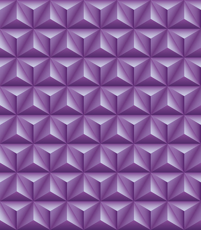 tripartite: Abstract pattern of lilac tripartite pyramids. Seamless texture