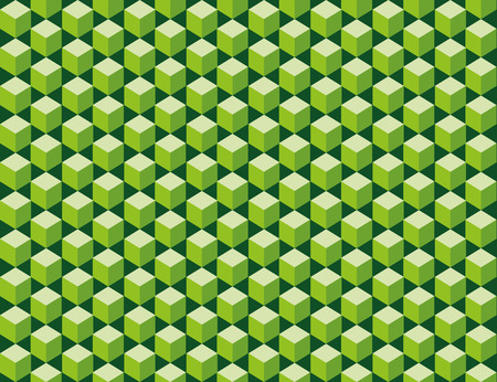 seamless texture: Abstrakte Muster aus gr�nen W�rfel schneiden. Nahtlose Textur