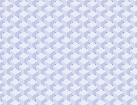 seamless texture: Abstrakte Muster der blauen S�ulen W�rfel. Nahtlose Textur Illustration