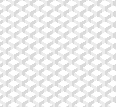 lighting column: Abstract pattern of white columns cubes. Seamless texture