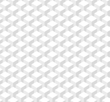 seamless texture: Abstrakte Muster von wei�en S�ulen W�rfel. Nahtlose Textur
