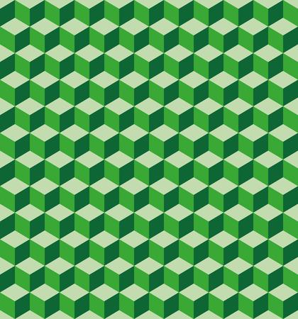 seamless texture: Abstrakte Muster von hellen gr�nen W�rfel schneiden. Nahtlose Textur