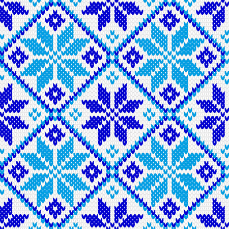 warm clothes: North Norwegian pattern ornament for warm clothes. Knitted related, seamless texture