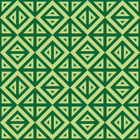 seamless texture: Abstrakte geometrische gr�ne Muster von Dreiecken. Vektor, nahtlose Textur