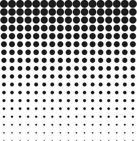 round dot: Abstract background black halftone vector Illustration