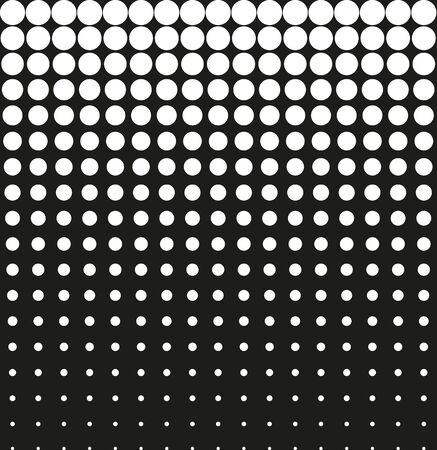 contrasty: Abstract background black halftone vector Illustration