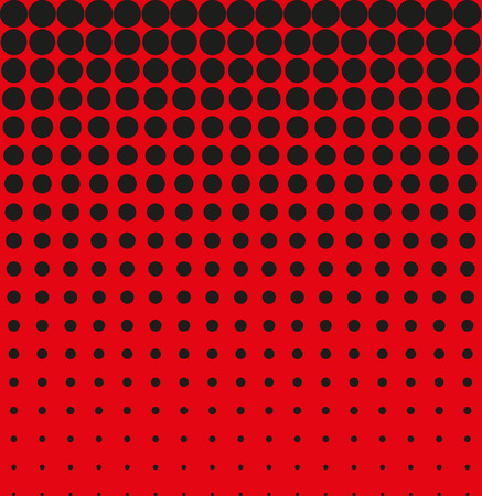raster artistic: Abstract background black red halftone vector Illustration