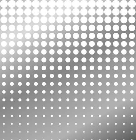 perforated: Abstract background of perforated metal halftone vector Illustration