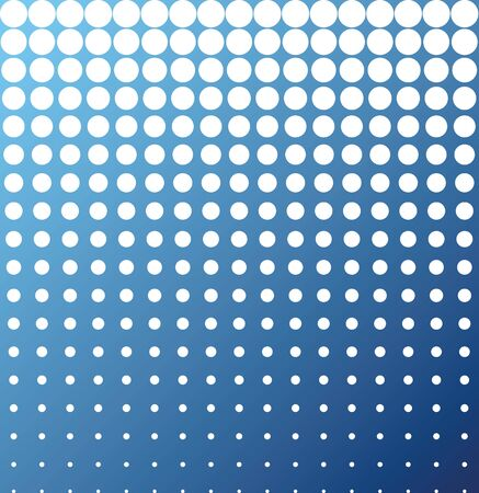 incident: Abstract background white blue halftone vector Illustration