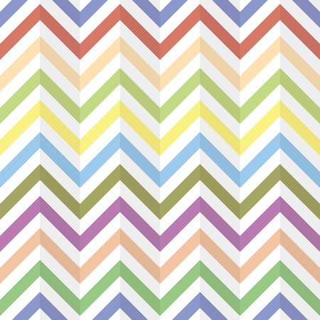 wallpaper abstract: Chevron Zigzag, compressed paper, wallpaper. Abstract multicolored background, seamless texture, vector Illustration