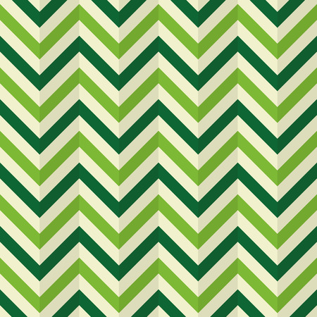 wallpaper abstract: Chevron Zigzag, compressed paper, wallpaper. Abstract green shades background, seamless texture, vector Illustration