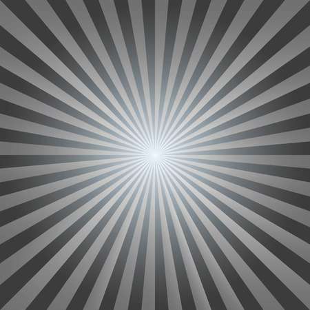 photographic effects: Vintage abstract background explosion of black-white rays. Vector illustration Illustration