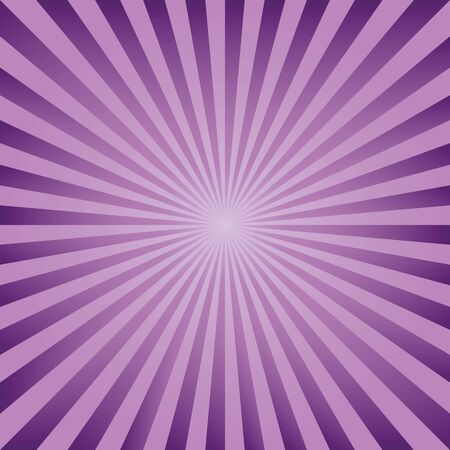 photographic effects: Vintage abstract background explosion of lilac and purple rays. Vector illustration