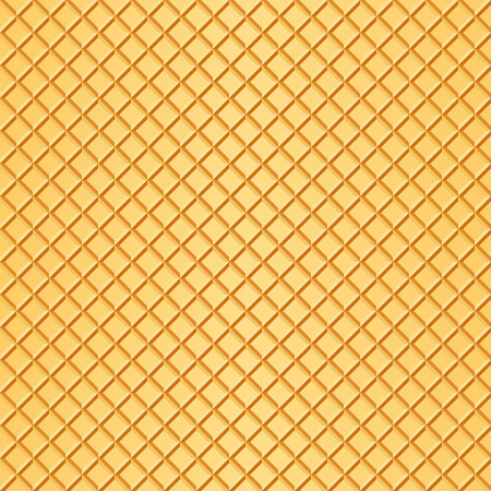 Waffle background.  Illustration