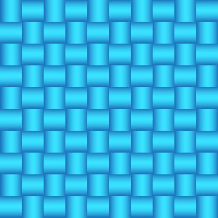 Abstract background of interwoven lines. Seamless braided pattern, vector illustration. You can change the color of the pattern in one click