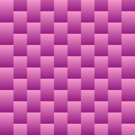 Pink vertical rectangles abstract background. Seamless pattern, vector illustration