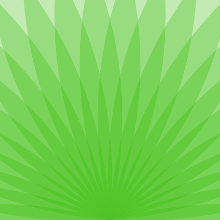 Abstract green background with transparent elements, vector illustration
