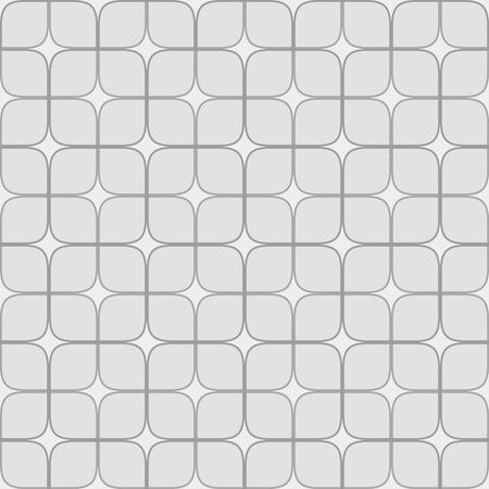 Seamless neutral background with gray squares. Abstract geometric pattern, illustration, vector image