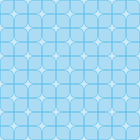 Seamless neutral background with blue squares. Abstract geometric pattern, illustration, vector image Illustration