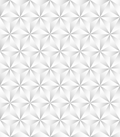 Seamless neutral background with light triangles gradient, metallic color. 矢量图像