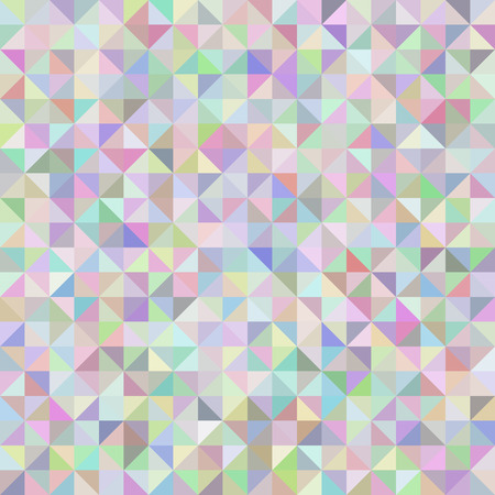 Neutral abstract geometric background triangles pastel gentle shades. 矢量图像