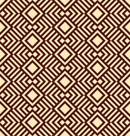 Geometric abstract background. Seamless pattern, vector illustration