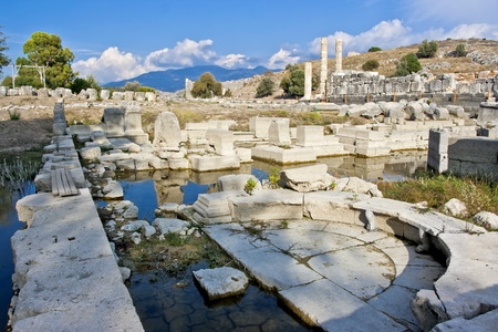 Letoon near the ancient Lycian city Xanthos. Turkey