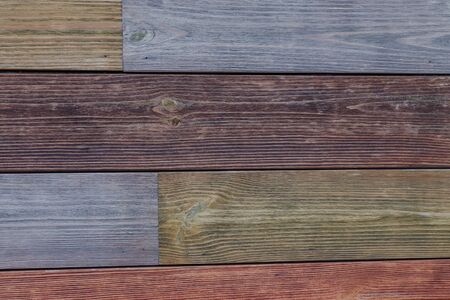 Brown wooden boards or fence texture background or backdrop with old paint 版權商用圖片 - 143606469