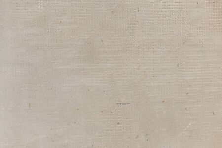 Plaster wall texture with construction gauze layer. Background or backdrop.