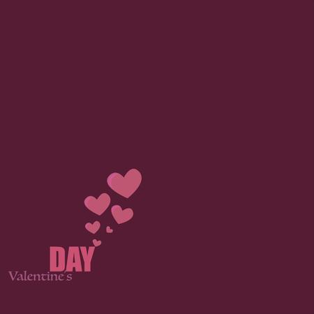 valentines hearts Illusztráció