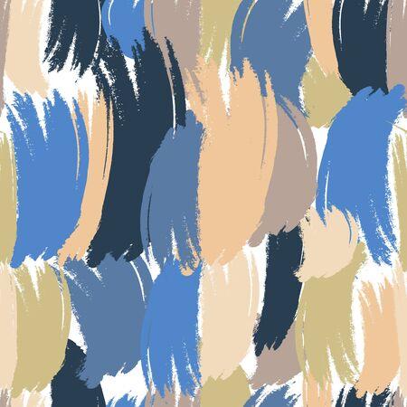 Brush stroke pattern. Abstract seamless background. Pastel drawn. Colorful brush stroke pattern.