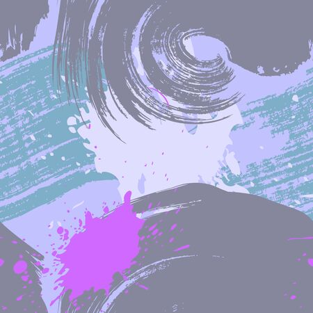 Brush paint. Pastel seamless texture. Abstract stroke background. Colorful brush paint.