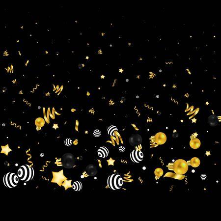 Glitter batch. Falling vector. Batch decoration dust. Glamour diamond texture. Glow. 일러스트