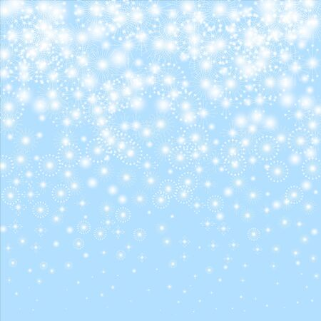 Snowflakes vector. Christmas background. Beauteous winter silver snowflake overlay template. Illustration