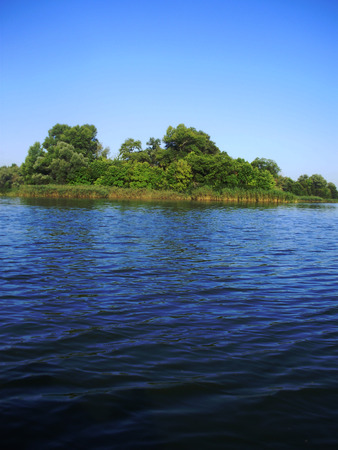 dnipro: Island on Dnipro river