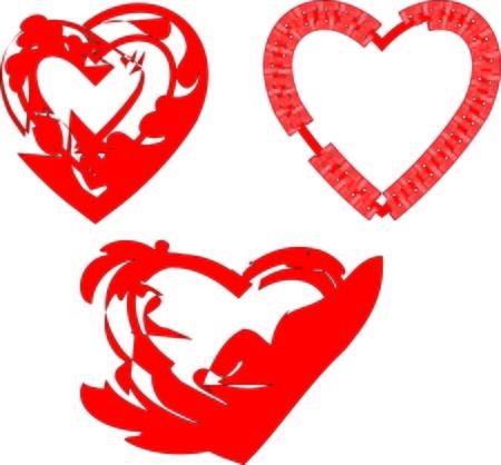 vehemence: Elegant hearts