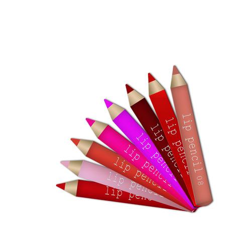 lip pencil: Lip pencil set